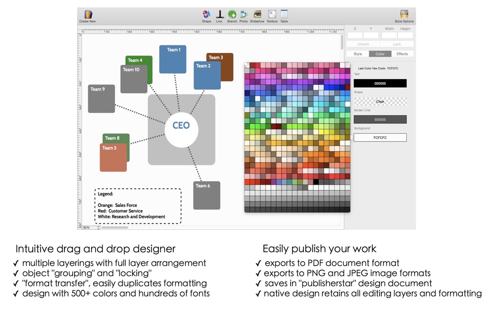 Org chart designer pro x ccuart Image collections